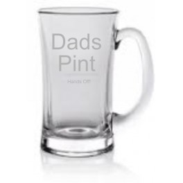 1 PINT BEER GLASS