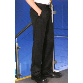 BOYS BLACK SCHOOL TROUSER