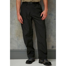 MENS BLACK CRAGHOPPERS TROUSERS