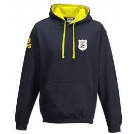 Thurleigh CC 2 colour hoody