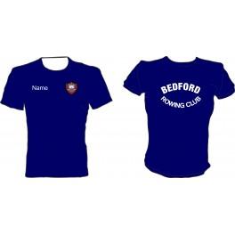 Bedford Rowing Club Junior Performance Tee Shirt