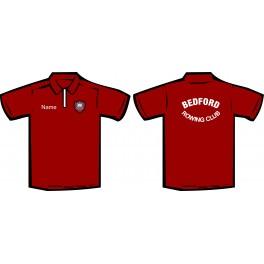 Bedford Rowing Club DryFit Polo Shirt